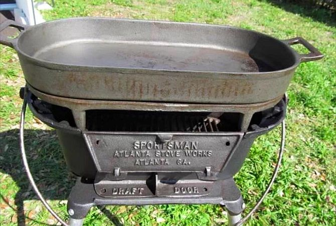 BSR Sportsman Grill plus Fryer