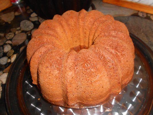 Naked Bundt Cake