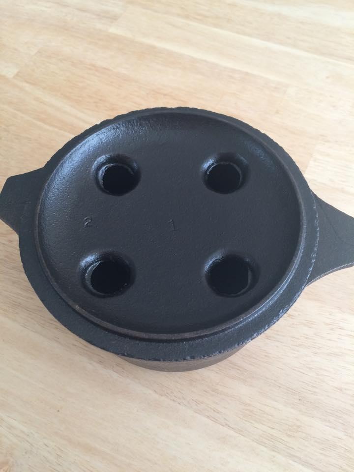 Potpourri lid underside