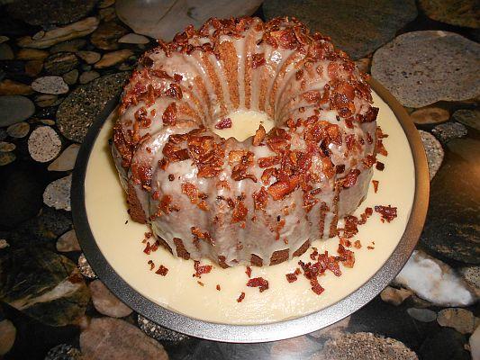 Apple Maple Bacon Cake