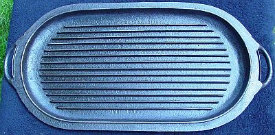 BS&R Cast Iron Lid 3093 - Bottom