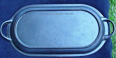 BS&R Cast Iron Lid 3093 - Top