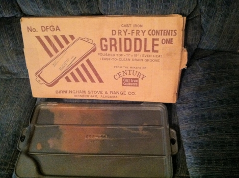 Dry Fry Griddle with Box
