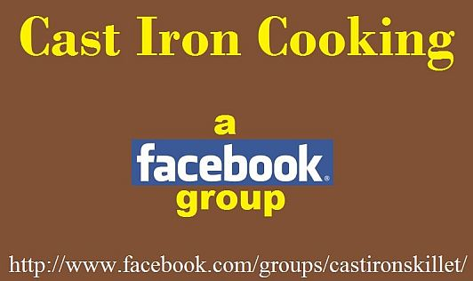 Cast Iron Cooking: a Facebook group