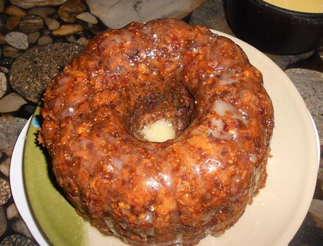 Figgy Pudding with Hard Sauce