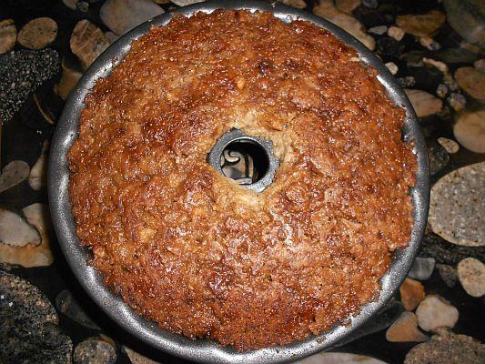 Finished Figgy Pudding