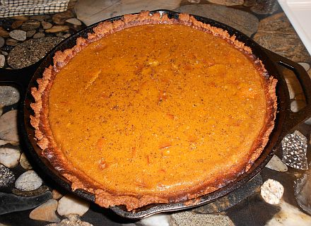 Cast Iron Pumpkin Pie