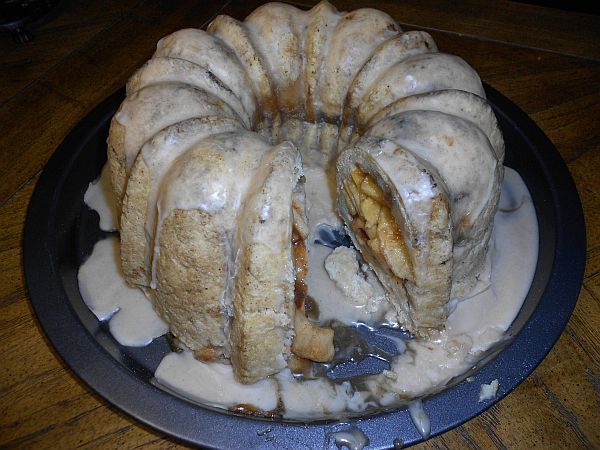 Bundt Apple Pie