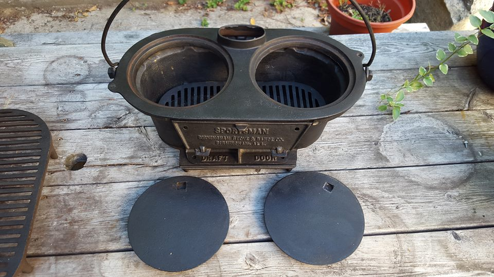 Cast Iron Chaos Sportsman Grill By Birmingham Stove And Range